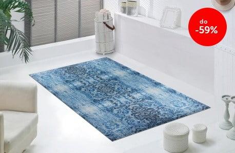 Kolorowe i wytrzymałe dywany  z obniżką do -59%
