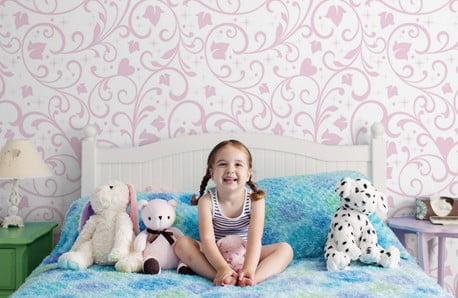 Tapety, samoprzylepne bordiury i zasłony