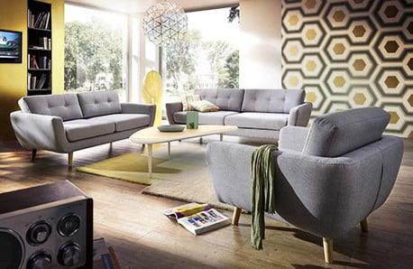Porządna dawka kolorowych foteli i sof