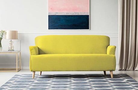Sofy i fotele w pastelowych kolorach