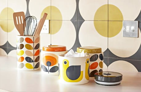 Wesołe kolory i wzory inspirowane stylem retro