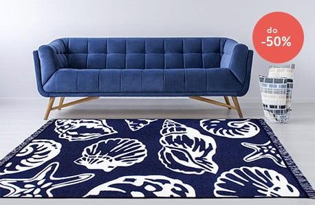 Dwustronne dywany, wycieraczki oraz poduszki
