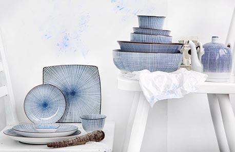 Porcelanowe naczynia z nutką orientu