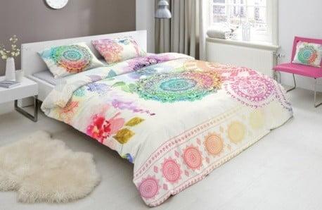 Wypełnij sypialnię kwiatami iletnimi barwami