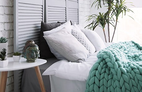 Koce z wełny merino, obrazy i poszewki na poduszki