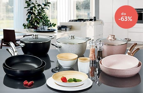 Naczynia i przybory kuchenne Bisetti