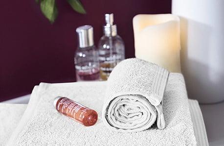 Puszyste ręczniki i dywaniki