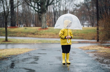 Eleganckie i zabawne parasole