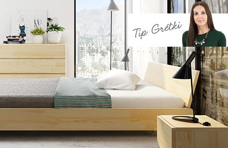Sypialnia pachnąca drewnem