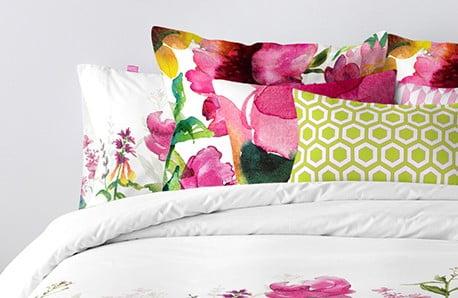 Dywany, poduszki, dekoracje