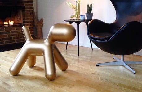 Figlarne stołki, krzesła idekoracje dla wesołych wielbicieli designu