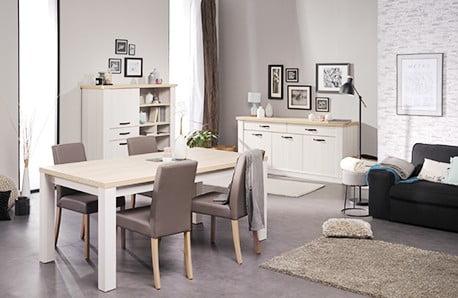 Komody, stoły i stoliki z paryską duszą