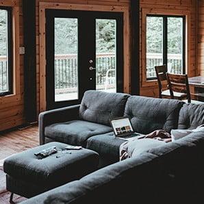 Mieszkanie w stylu alpejskiego domku
