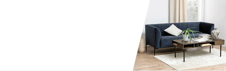 Salon w skandynawskim stylu w przystępnej cenie