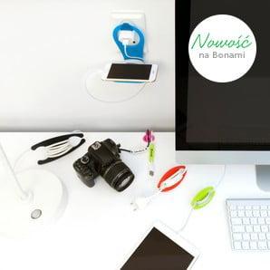 Akcesoria do biura w intensywnych kolorach