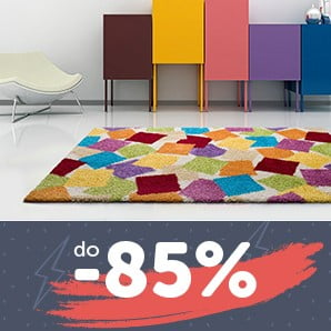 Przyjemne w dotyku dywany z przyjemną zniżką do -85%
