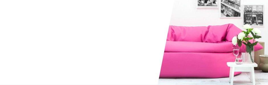 Poduszkowe sofy i fotele