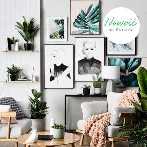 Obrazy i plakaty, które wystylizują  wnętrze
