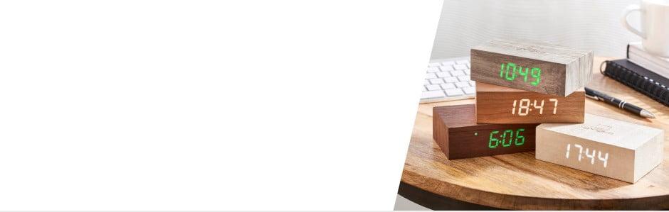 Gingko. Stylowe i pomysłowe budziki LED oraz lampy