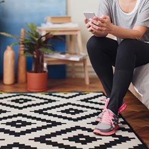 Antypoślizgowe dywany w wielu kolorach