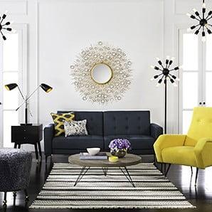 Nowojorskie dywany oraz eleganckie dekoracje