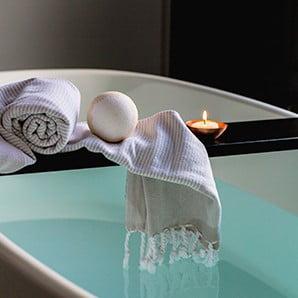 Ręcznie tkane ręczniki i inne dodatki
