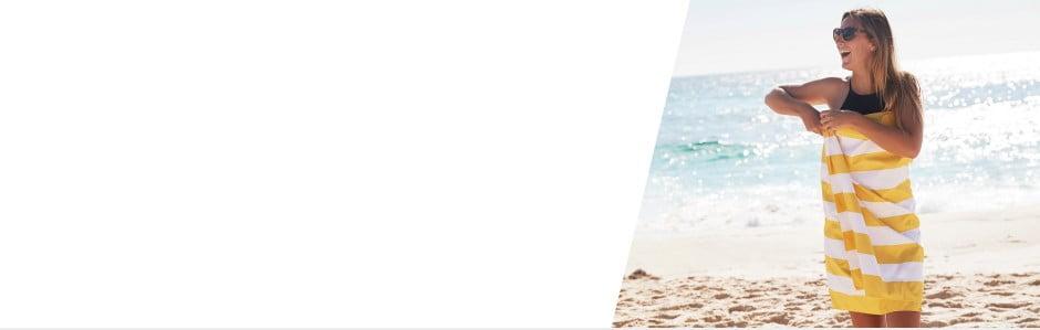 Szybkoschnące ręczniki plażowe Dock and Bay