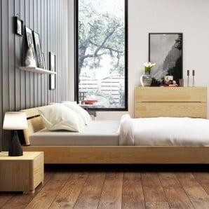 Łóżka, komody i szafki nocne z litego drewna