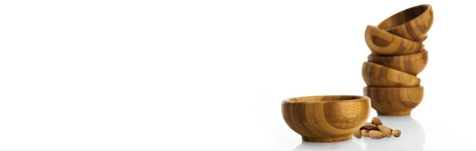 Bambus, łupek i porcelana