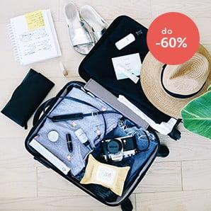 Walizki i kosmetyczki  w sam raz na podróż