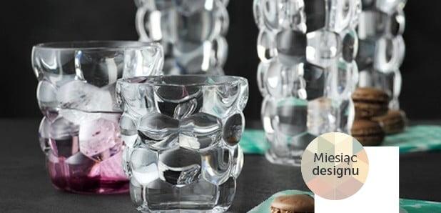Naczynia stołowe idodatki zkryształowego szkła