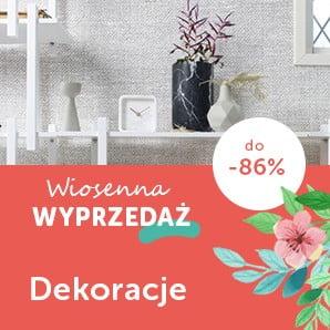 Dodatki dekoracyjne ze zniżką do -86%