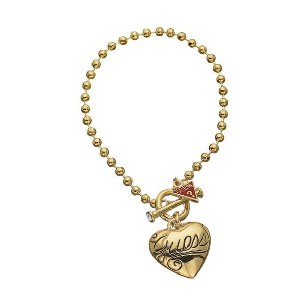 Bransoletka GUESS Sweet Gold Heart