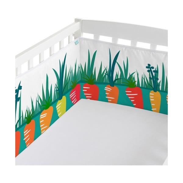 Ochraniacz do łóżeczka Lapins, 60x60x60 cm