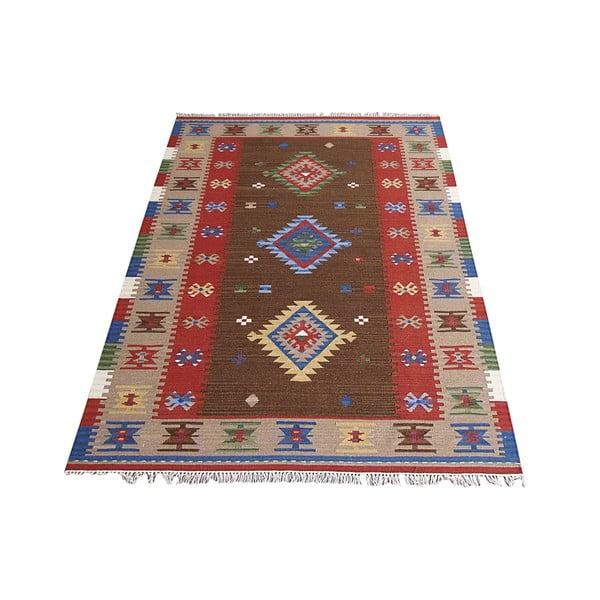 Ręcznie tkany dywan Kilim Classic K39, 155x215 cm