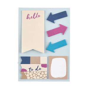 Zestaw   karteczek samoprzylepnych Busy B Busy Life Contemporary