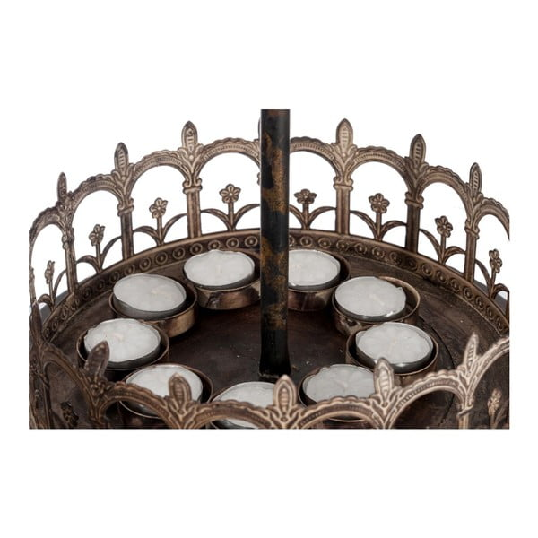 Świecznik Carousel, 26x26x53 cm