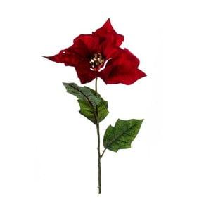 Sztuczny kwiat Gwiazda betlejemska, czerwona