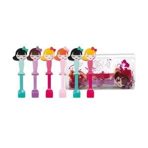 Zestaw 6 łyżeczek dziecięcych Princess