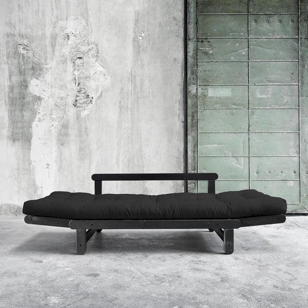 Sofa rozkładana Karup Beat Black/Gray
