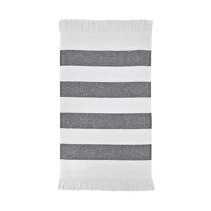 Czarny ręcznik Aquanova Jolie, 30x50 cm
