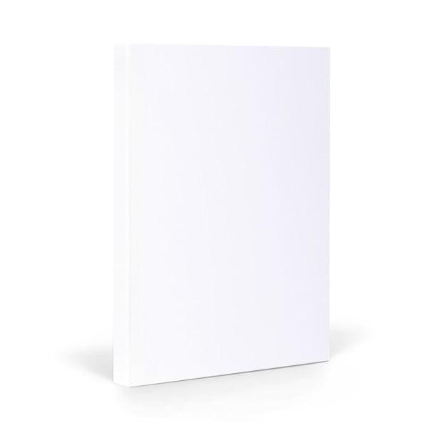 Notes FANTASTICPAPER A5 Snow/Silver, gładki