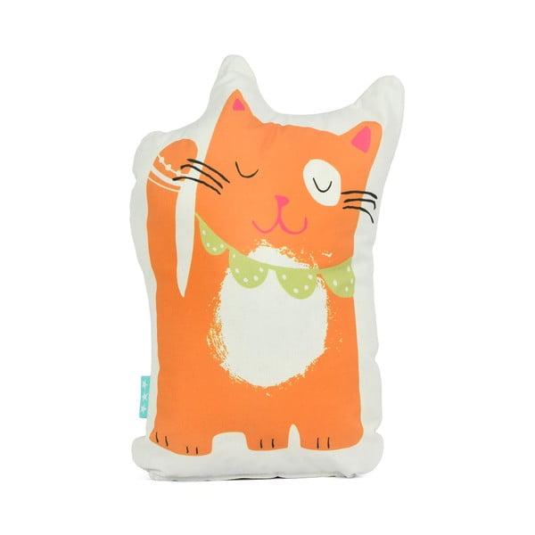 Poduszka bawełniana Moshi Moshi Cat&Mouse, 40x30 cm