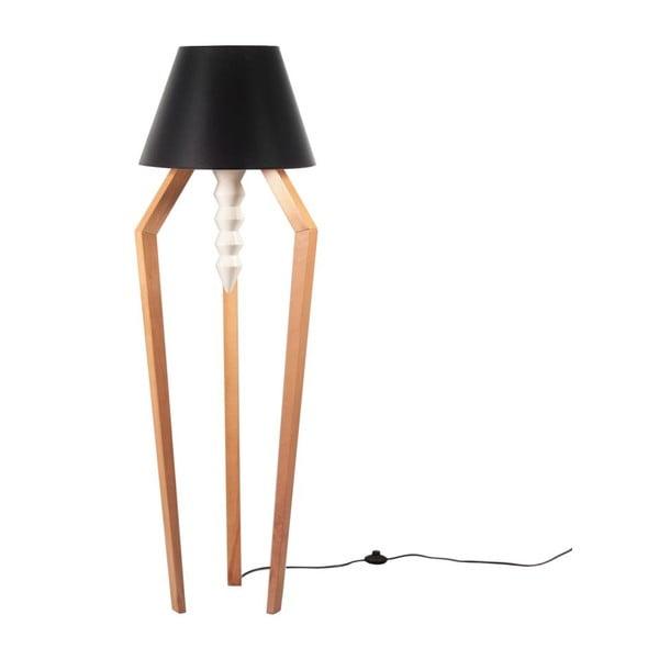 Lampa stojąca Tornado Black