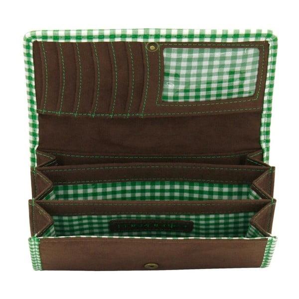 Portfel damski Bavaria Brown/Green