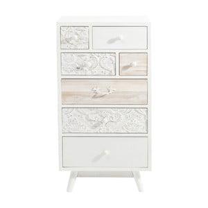 Białakomoda z 7 szufladami Kare Design Sweet Home