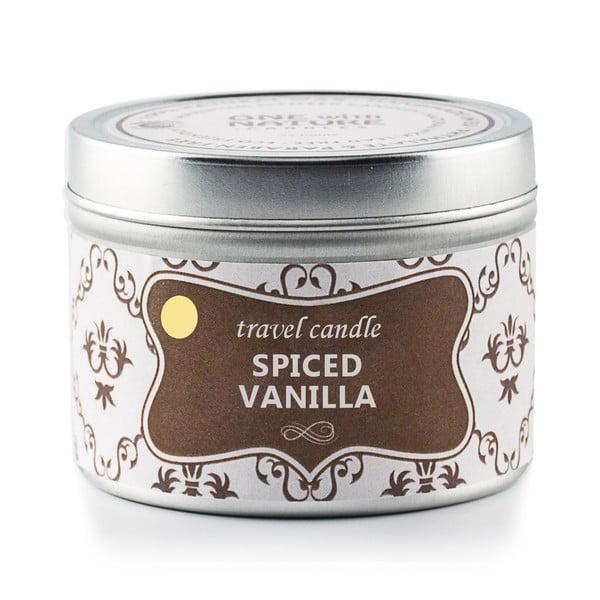 Świeczka zapachowa w puszce Spiced Vanilla, 25 godzin palenia