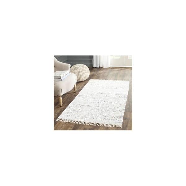 Biały dywan Safavieh Elena, 121x182cm