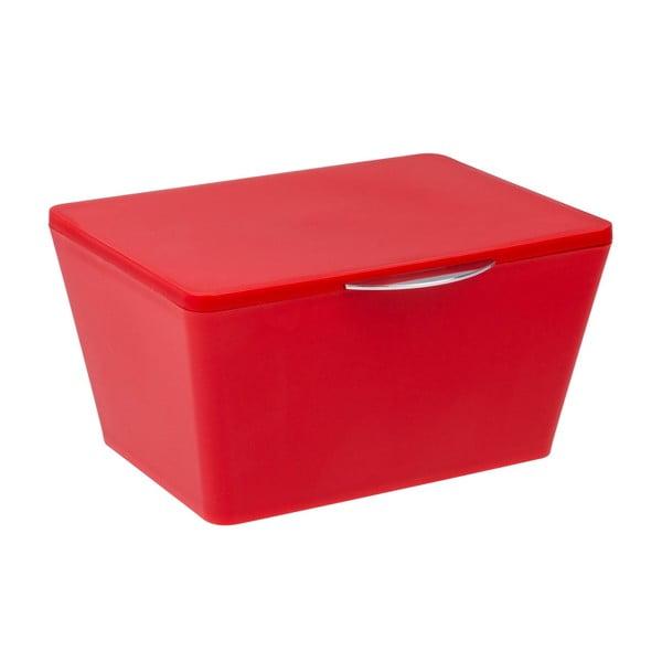 Czerwony pojemnik łazienkowy Wenko Brasil Red