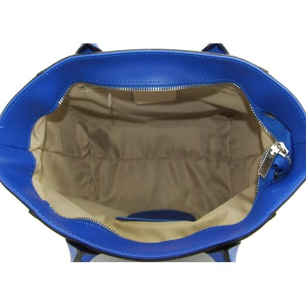 Skórzana torebka Filena Blue